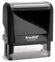 "A simple, Self Inking Trodat Notary Stamp creates a rectangular 7/8"" X 2 3/8"" impression of your official Alaska notarial information."