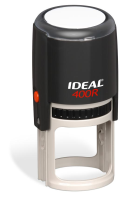 Ideal Notary Self Inking 400r Stamp conveniently notarizes a circular seal impression of Arkansas notarial information.