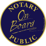 Notary On Board Car Magnet - a fun & inexpensive sales tool!