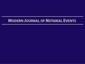 Ideal for flexible signing agents, the Soft Cover Modern Journal of Notarial Events is focused on loan signings and common notarial acts such as healthcare directives and wills.