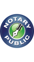 NOTARYDECALPEN - Notary Public Window Decal