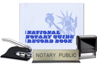 Wow! A total Notary Supplies Package for Alaska state. Get 4 products in 1 convenient bundle.