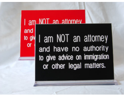 <h4> Legal Disclaimer Signs </h4>