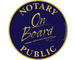<h4> Notary Car Magnet </h4>