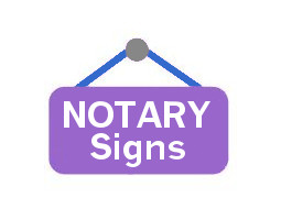 <h4>Connecticut <br>Notary Signs & Badges</h4>