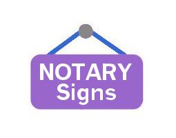 <h4>Washington<br>Notary Signs & Badges</h4>