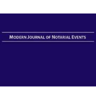 Ideal for signing agents, the Hard Cover Modern Journal of Notarial Events is focused on loan signings and common notarial acts such as healthcare directives and wills.