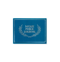 Soft Cover Notary Public Logbook complies with recordkeeping guidelines in all 50 states and includes ample space to record pertinent notarial information.