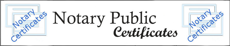 Arizona Certificates, Attested Copies, Certified Copies, Acknowledgment, Witness of Signature Forms for Notary Publics
