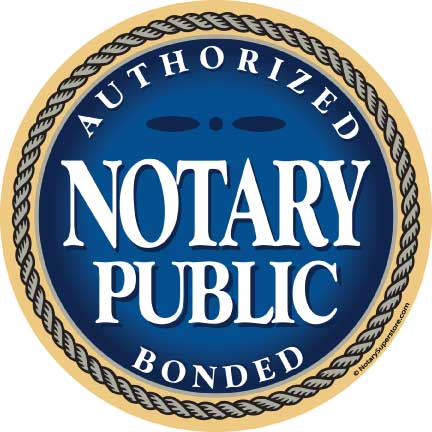 notary accessories authorized bonded stickers rh notarystamps com notary public lago vista texas notary public logansport in